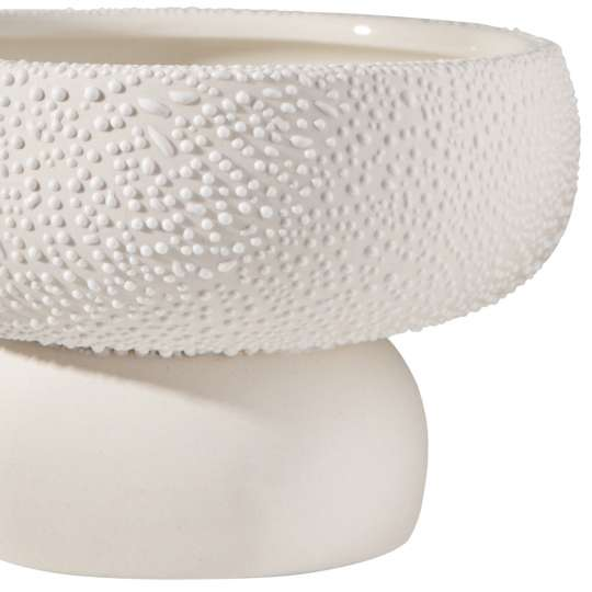 Räder: raffinierte Herstellung: Vasen, Schalen und Dosen in Perlenoptik / Perlenschale klein