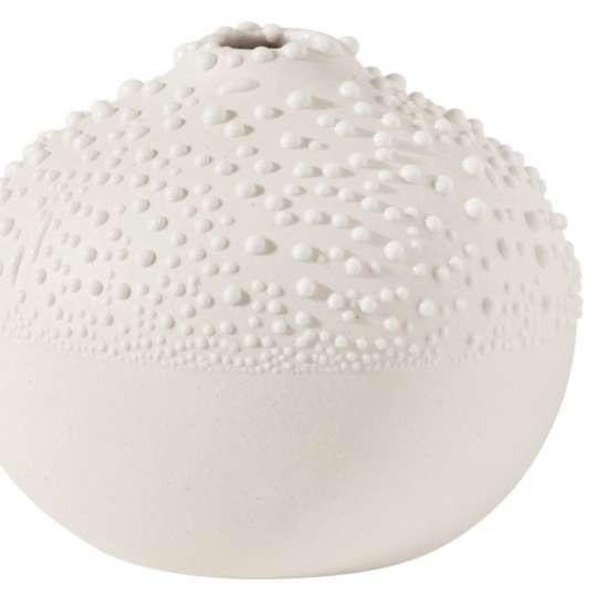 Räder: raffinierte Herstellung: Vasen, Schalen und Dosen in Perlenoptik / Perlenvase kleine Serie / Design 1