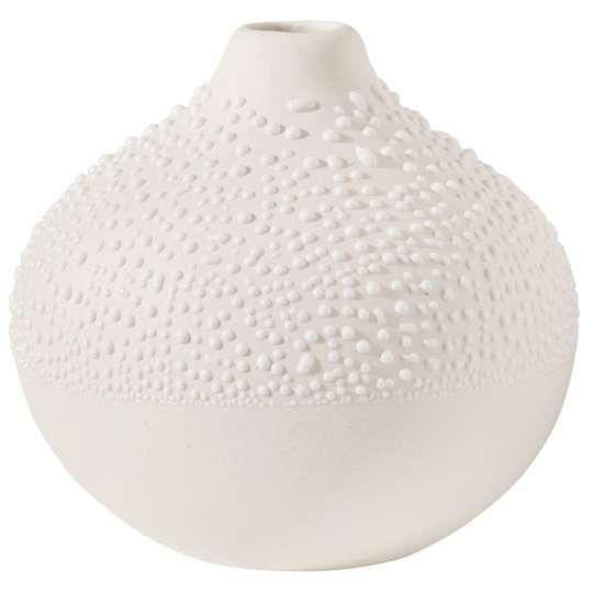 Räder: raffinierte Herstellung: Vasen, Schalen und Dosen in Perlenoptik / Perlenvase kleine Serie / Design 2