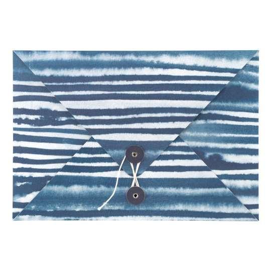 Tintenblau: Sammelmappe- Great Things Take Time von Raeder