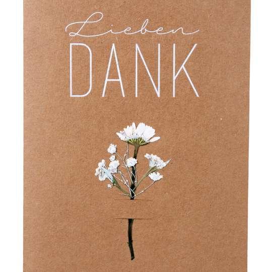 räder - Blumenkarte - Lieben Dank