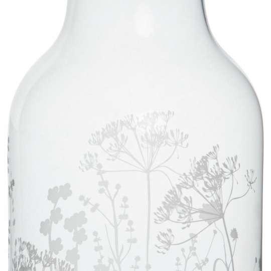 Räder: Poesien auf Glas / Vase / Motiv 'Wiesenblume'