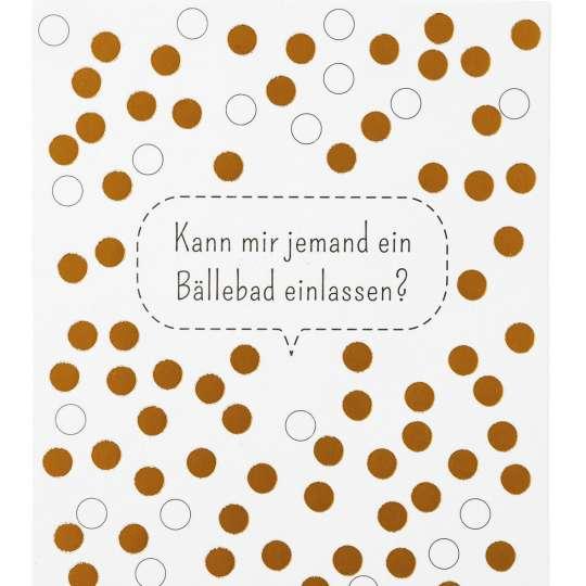 räder - Kleine Botschaften Postkarten - Bällebad