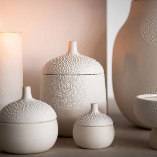 Raeder: Vasen, Schalen und Dosen in Perlenoptik / Mood 2
