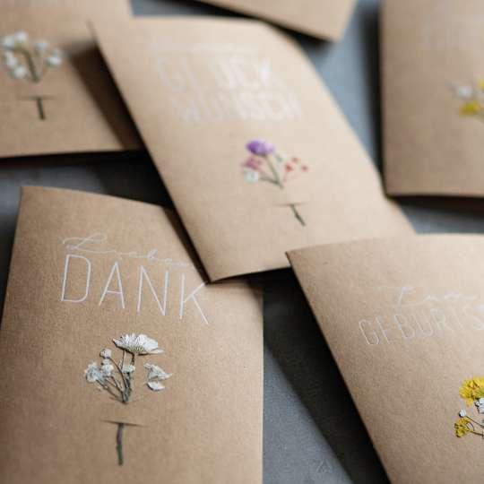 räder - Blumenkarte - Sammlung