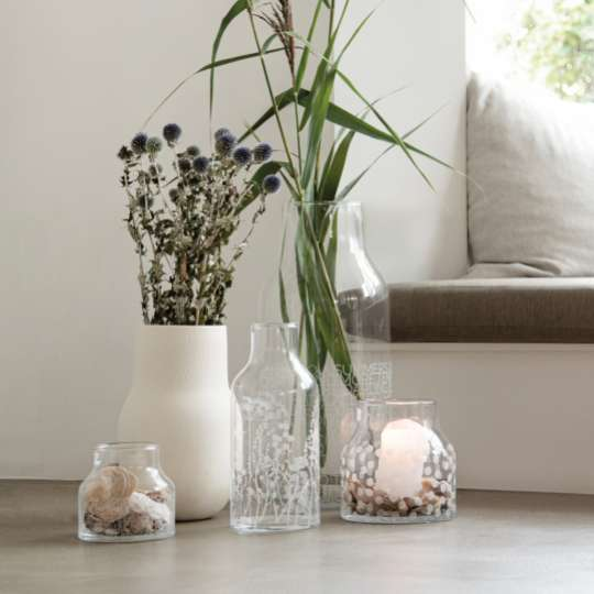 Räder: Poesien auf Glas / Mood Vasen