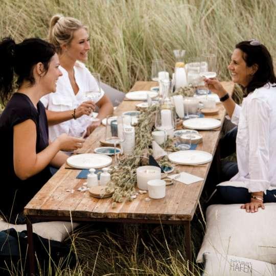 Räder - Serie: Meer als Worte / Mood Picknick in den Dünen