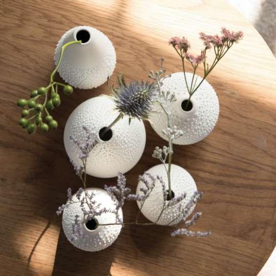 räder - Weiße Perlenvasen - Ambiente
