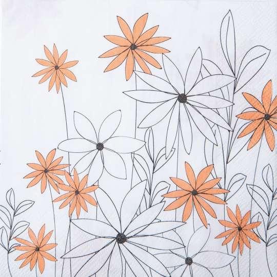räder - Blütezeit - Servietten Blumen