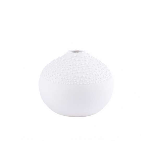 räder - Weiße Perlenvase - Design 1