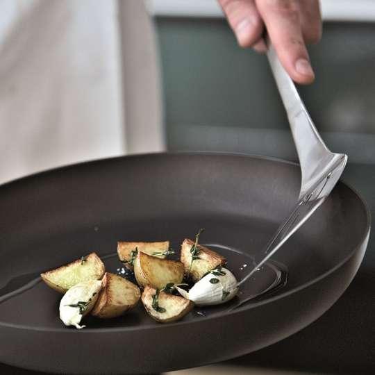 Scanpan: Serie Classic / Bratpfanne, Zubereitung Kartoffeln