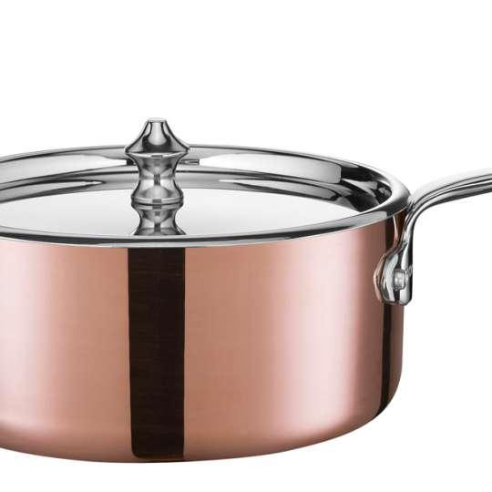 Scanpan - Maitre D' Serie aus Kupfer / Stielkasserolle 77231400