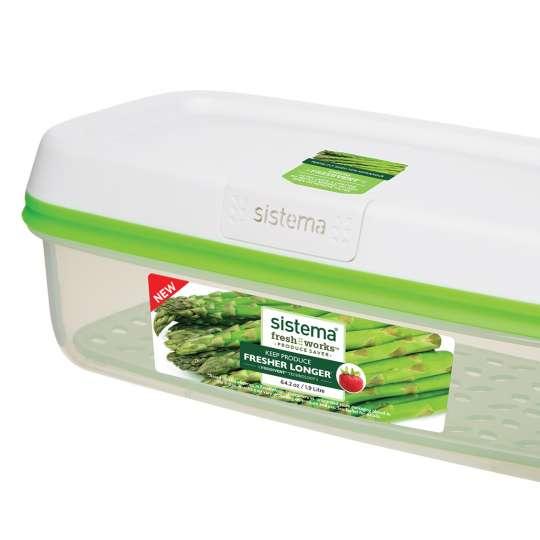 sistema - Frische-Boxen FreshWorks - ideal für Spargel