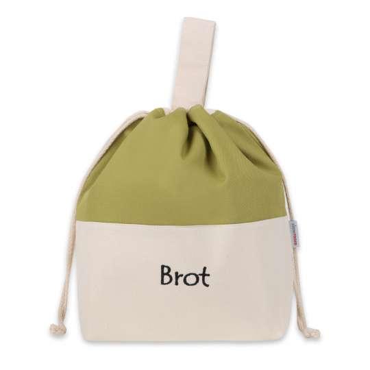 Slowroom: Brottasche Olive fürs Einkaufen
