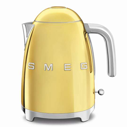 smeg: Luxuriöse Sondereditionen - Wasserkocher Gold, KLF03GOEU