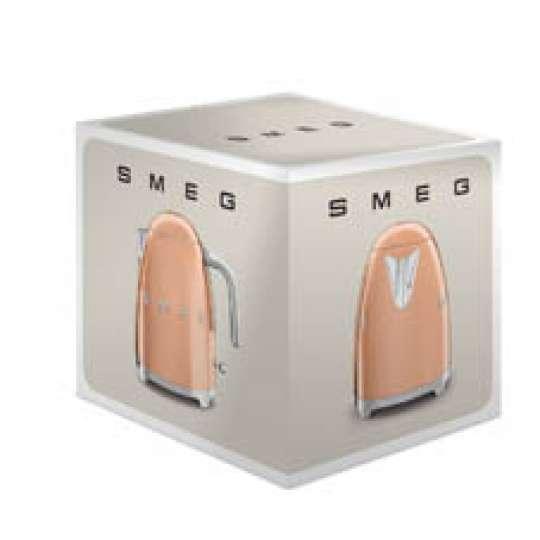 smeg: Luxuriöse Sondereditionen - Wasserkocher Rosegold, KLF03RGEU, Verpackung