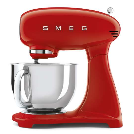 smeg Küchenmaschine, SMF 03, Full-Colour-Lackierung, rot