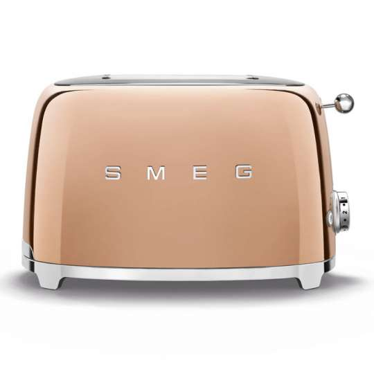 smeg: Luxuriöse Sondereditionen -  Toaster Rosegold, TSF01RGEU