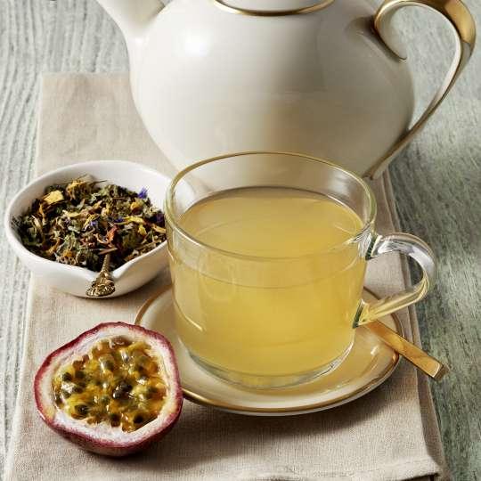 Kräuter-Maracuja Tee