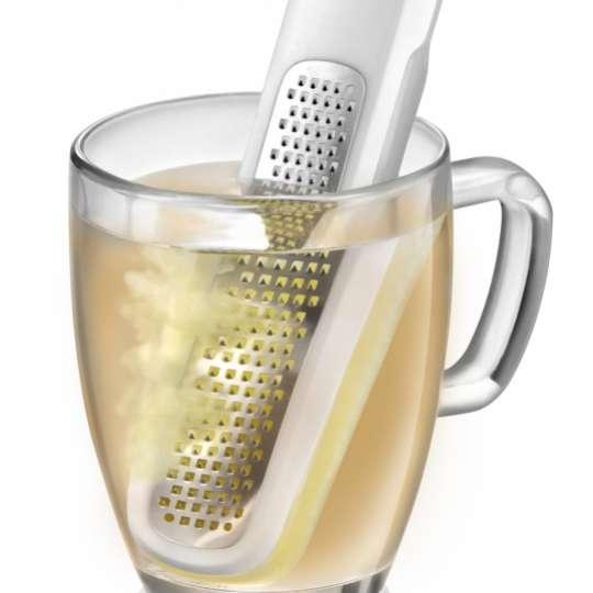 Tescoma: Ingwerreibe-sieb Handy X-sharp, dekoriert mit Glas