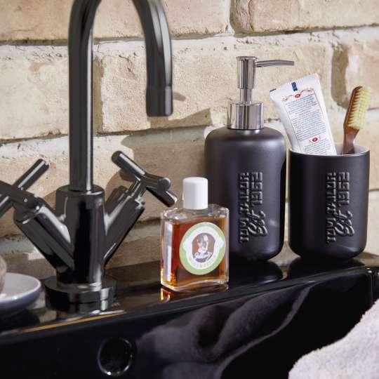 Tom Tailor SOHO Black mattschwarze Keramikserie mit Hochprägung