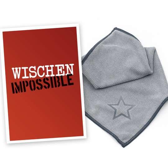 Wischtuch Wischen impossible von Wisch.art
